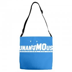 unanimous cooperstown, new york Adjustable Strap Totes | Artistshot