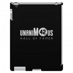 unanimous hall of famer iPad 3 and 4 Case | Artistshot