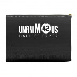 unanimous hall of famer Accessory Pouches | Artistshot