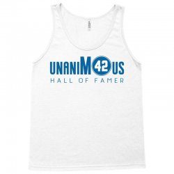 unanimous hall of famer Tank Top | Artistshot