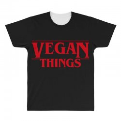 vegan things All Over Men's T-shirt | Artistshot