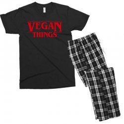 vegan things Men's T-shirt Pajama Set | Artistshot