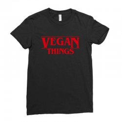 vegan things Ladies Fitted T-Shirt | Artistshot