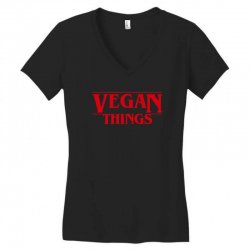 vegan things Women's V-Neck T-Shirt | Artistshot