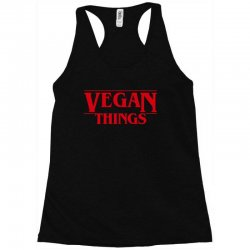 vegan things Racerback Tank | Artistshot