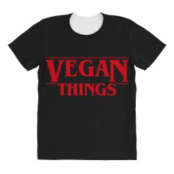 vegan things All Over Women's T-shirt | Artistshot