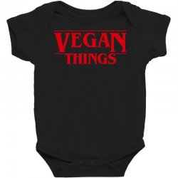vegan things Baby Bodysuit | Artistshot