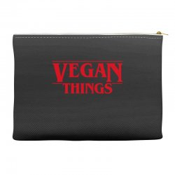 vegan things Accessory Pouches | Artistshot