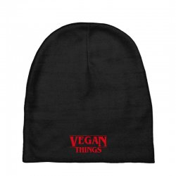 vegan things Baby Beanies | Artistshot