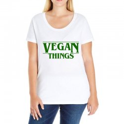 vegan things for light Ladies Curvy T-Shirt | Artistshot