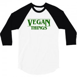 vegan things for light 3/4 Sleeve Shirt | Artistshot