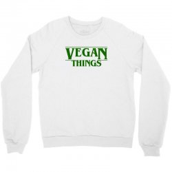 vegan things for light Crewneck Sweatshirt | Artistshot