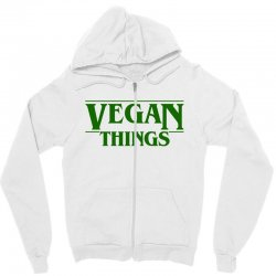 vegan things for light Zipper Hoodie | Artistshot