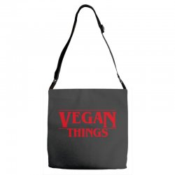 vegan things Adjustable Strap Totes | Artistshot