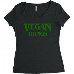 vegan things for light Women's Triblend Scoop T-shirt | Artistshot