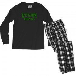 vegan things for light Men's Long Sleeve Pajama Set | Artistshot
