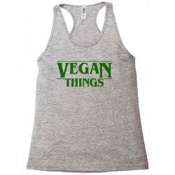vegan things for light Racerback Tank | Artistshot