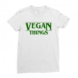 vegan things for light Ladies Fitted T-Shirt | Artistshot
