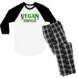 vegan things for light Men's 3/4 Sleeve Pajama Set | Artistshot