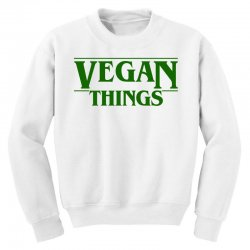 vegan things for light Youth Sweatshirt | Artistshot