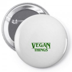 vegan things for light Pin-back button | Artistshot