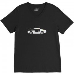 back to the future V-Neck Tee | Artistshot