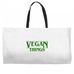 vegan things for light Weekender Totes | Artistshot