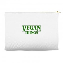 vegan things for light Accessory Pouches | Artistshot