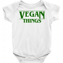 vegan things for light Baby Bodysuit | Artistshot