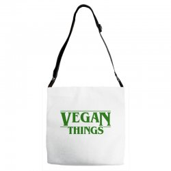 vegan things for light Adjustable Strap Totes | Artistshot
