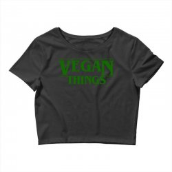 vegan things for light Crop Top | Artistshot