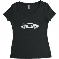 back to the future Women's Triblend Scoop T-shirt | Artistshot