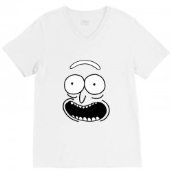 rick and morty pickle V-Neck Tee | Artistshot