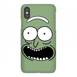 rick and morty pickle iPhoneX Case | Artistshot