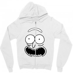 rick and morty pickle Zipper Hoodie | Artistshot