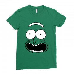 rick and morty pickle Ladies Fitted T-Shirt | Artistshot