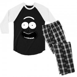 rick and morty pickle Men's 3/4 Sleeve Pajama Set | Artistshot