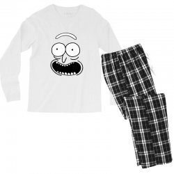 rick and morty pickle Men's Long Sleeve Pajama Set | Artistshot