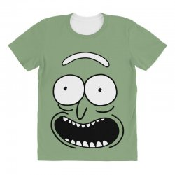 rick and morty pickle All Over Women's T-shirt | Artistshot