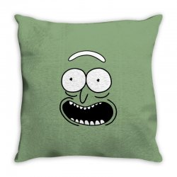rick and morty pickle Throw Pillow | Artistshot