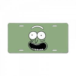rick and morty pickle License Plate | Artistshot