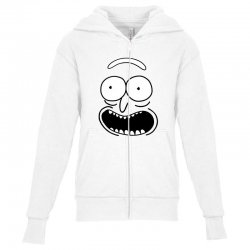 rick and morty pickle Youth Zipper Hoodie | Artistshot