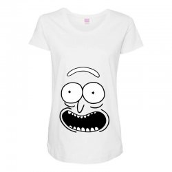 rick and morty pickle Maternity Scoop Neck T-shirt | Artistshot