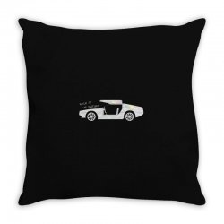 back to the future Throw Pillow | Artistshot