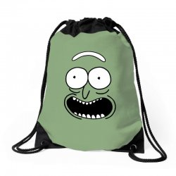 rick and morty pickle Drawstring Bags | Artistshot