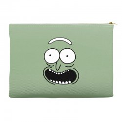 rick and morty pickle Accessory Pouches | Artistshot