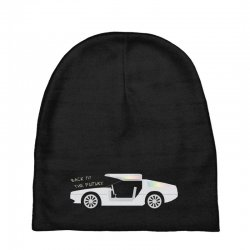 back to the future Baby Beanies | Artistshot