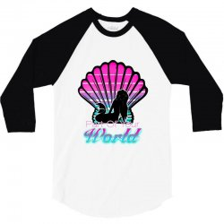 part of your world 3/4 Sleeve Shirt | Artistshot