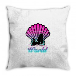 part of your world Throw Pillow | Artistshot
