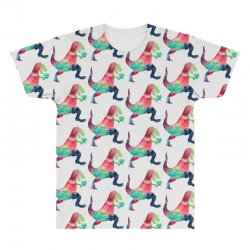 saint patricks t rex All Over Men's T-shirt | Artistshot